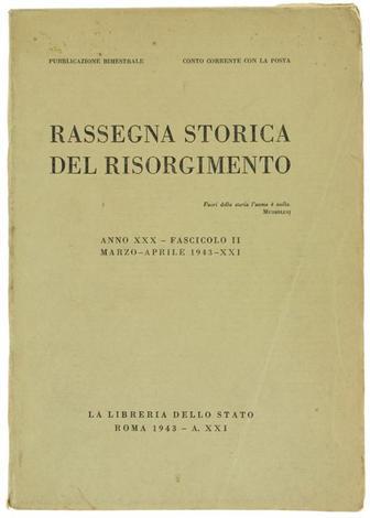 <strong>RASSEGNA STORICA DEL RISORGIMENTO</strong>