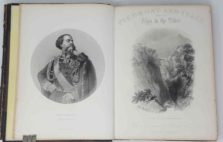 Piedmont and Italy from the Alps to the Tiber. Illustrated in a series of views taken on the spot. With a descriptive and historical narrative, by D. Costello. In two volumes.