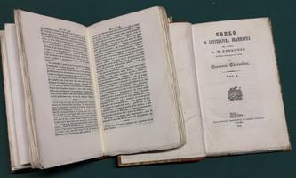 <strong>Corso di letteratura drammatica. Versione italiana con note di Giovanni Gherardini.</strong>