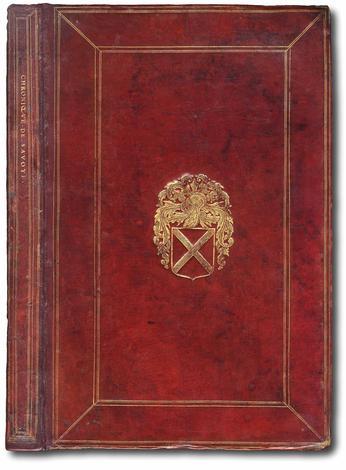 CHRONIQUE DE SAVOYE, extraite pour la plus part de l'Histoire de M. Guillaume Paradin. Troisième édition , enrichie et augmentée en divers endroits, et continuée jusques à la paix de l'an 1601.