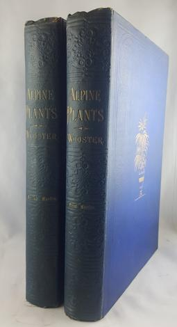 <strong>Alpine plants: figures and descriptions of some of the most striking and beautiful of the alpine flowers. Second edition. (con:) Second series.</strong>