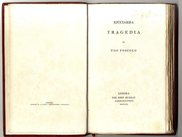 <strong>Ricciarda - Tragedia</strong>