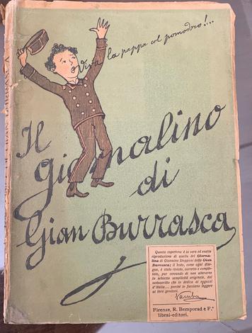 <strong>Il giornalino di Gian Burrasca.</strong>Rivisto, corretto e completato da Vamba.
