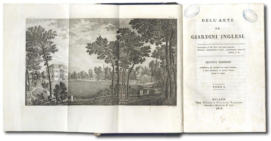 Dell'Arte de' Giardini Inglesi.