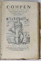 Compendio delle historie del regno di Napoli composto da messer Pandolfo Collenucio juriconsulto in Pesaro.