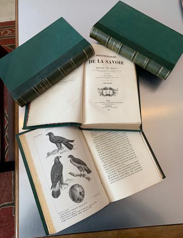 Ornithologie de la Savoie ou histoire des oiseaux qui vivent en Savoie à l'état sauvage soit constamment, soit passagèrement..