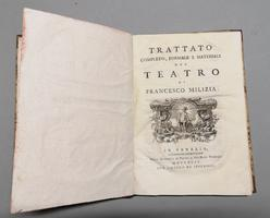 <strong>Trattato completo, formale e materiale del Teatro.</strong>