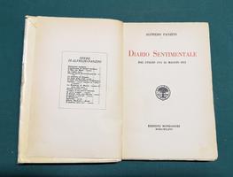 <strong>Diario sentimentale. Dal luglio 1914 al maggio 1915. Dal maggio 1915 al novembre 1918.</strong>
