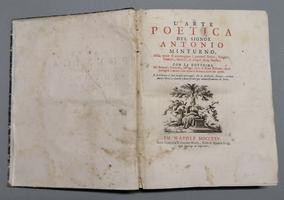 <strong>L'arte poetica del signor Antonio Minturno, nella quale si contengono i precetti eroici, tragici, comici, satirici e d'ogni altra poesia</strong>: con la dottrina de' sonetti...