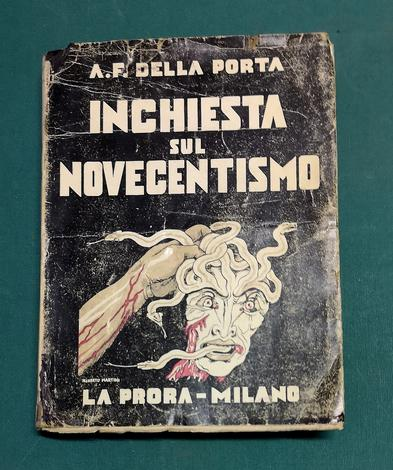 <strong>Inchiesta sul Novecentismo.</strong>