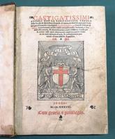 <strong>Castigatissimi Annali con la loro copiosa tavola della Eccelsa et Ill.ma Republ. di Genoa,da fideli et approvati scrittori accuratamente racolti...Opera certamente molto laudevole, a Studiosi assai comoda...e utilissima.</strong>
