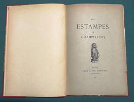 <strong>Les Estampes de Champfleury. Catalogue des eaux-fortes, lithographies, caricatures,</strong> vignettes romantiques, dessins et aquarelles formant la collection Champfleury