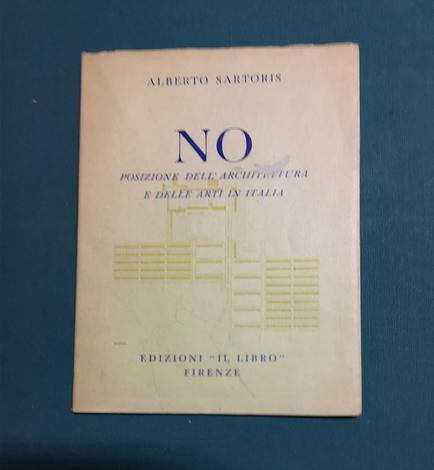 <strong>No. Posizione dell'architettura e delle arti in Italia.</strong>