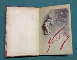 <strong>La storia di burattini (Vent'anni al teatro).</strong>