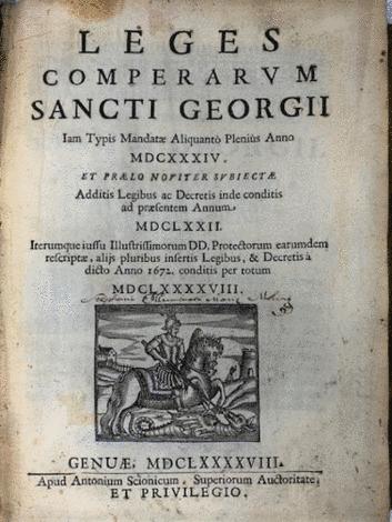 <strong>SANCTI GEORGII iam typis mandatae aliquanto plenius anno MDCXXXIV.</strong>