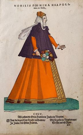 Nobilis foemina Neapoli.